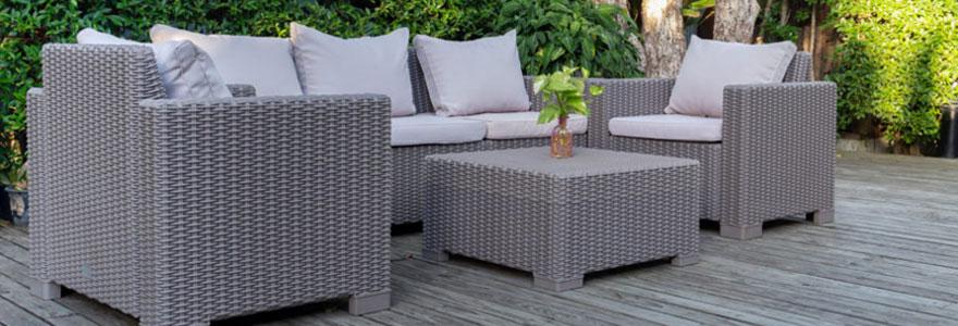Achat de mobilier de jardin
