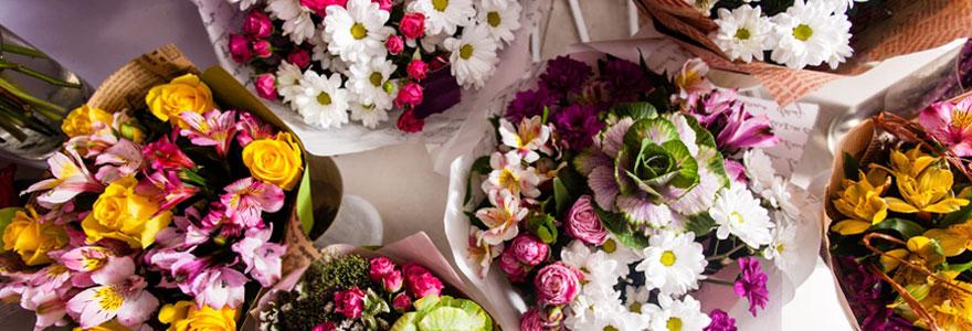 Commander pour une livraison de fleurs