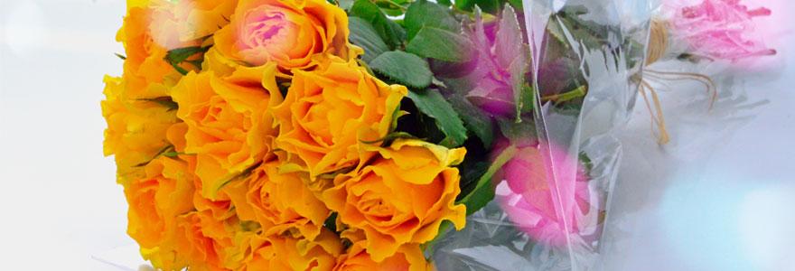 fleurs pour la fête des grands-mères